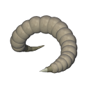 Space Worm Albino